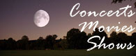 Outdoor concerts, movies, and other activities in Bucks County and surrounding areas